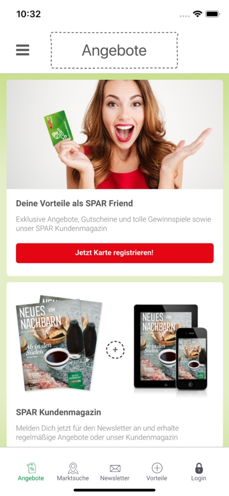 Spar Friends App
