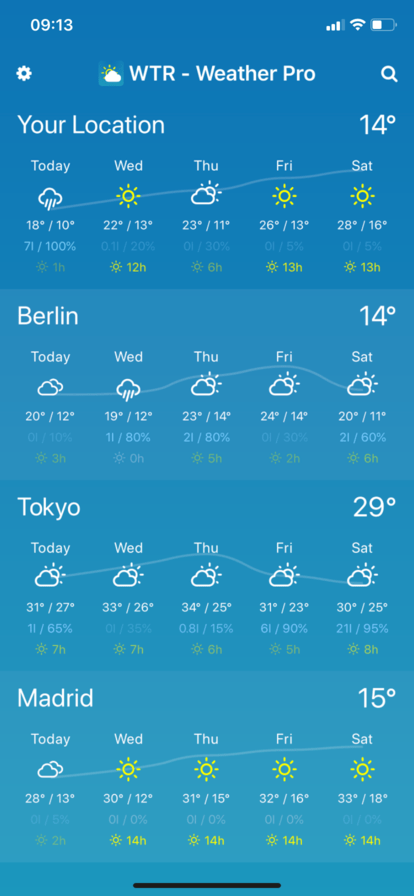 Weather App Screenshot