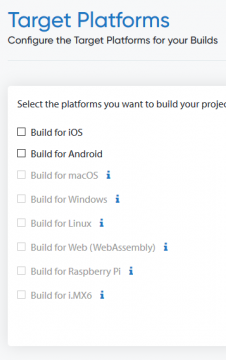 Build & Distribute with Cloud Builds CI/CD - Target Platforms